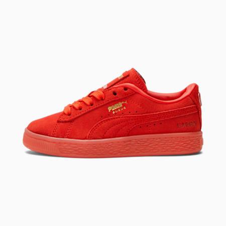 Zapatos Suede PUMA x HARIBO para niño pequeño, Poppy Red-Poppy Red, pequeño