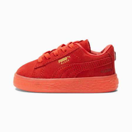 Zapatos PUMA x HARIBO Suede de bebé, Poppy Red-Poppy Red, pequeño