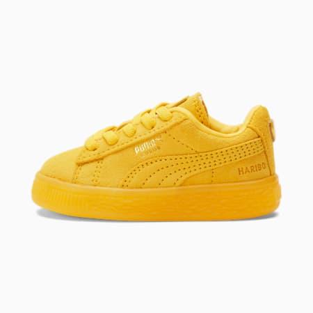 Zapatos PUMA x HARIBO Suede de bebé, Mimosa-Mimosa, pequeño