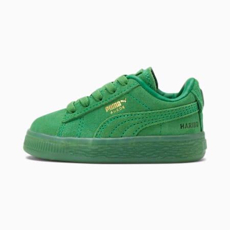 Zapatos PUMA x HARIBO Suede de bebé, Amazon Green-Amazon Green, pequeño