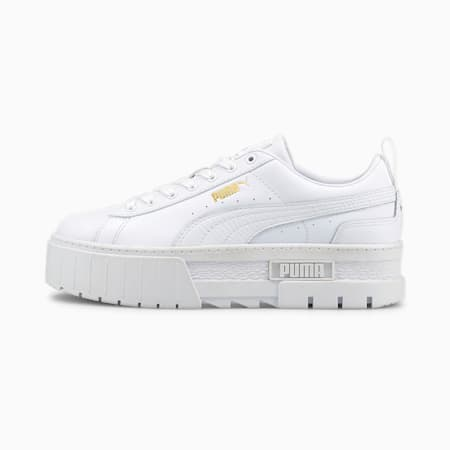 Mayze Classics Women's Shoes, Puma White, small-IND