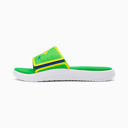 Sandalias Brazil Softride, Classic Green-Dandln-Pma Ryl, pequeño