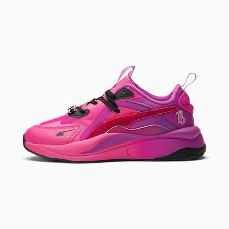 Zapatos deportivos PUMA x BRATZ RS-Curve de mujer, Beetroot Purple-Byzantium, pequeño