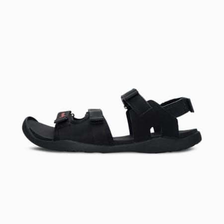 one8 PUMA Stride Men's Sandals, Puma Black-Grenadine, small-IND