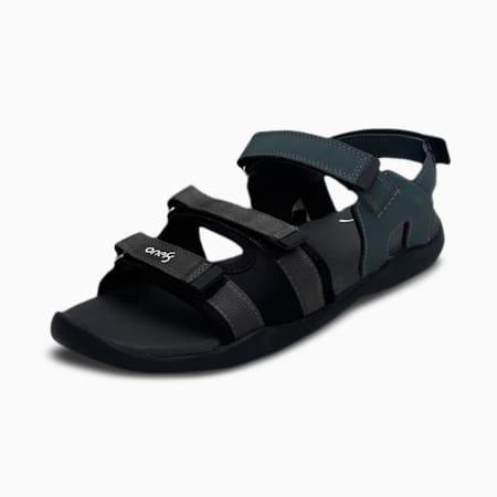 one8 PUMA Stride Men's Sandals, Puma Black-Dark Shadow-Puma White, small-IND