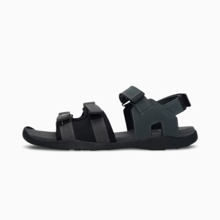 PUMA Stride one8 IDP Men's Sandals, Puma Black-Dark Shadow-Puma White, small-IND