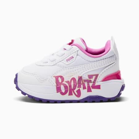 Zapatos PUMA x BRATZ Cruise Rider de bebé, Puma White-Spring Crocus, pequeño