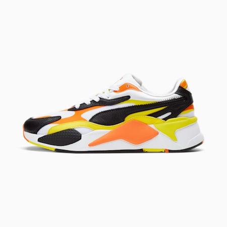 Zapatos deportivos RS-X³ Court Crush, Puma White-Puma Black-Vibrant Yellow, pequeño