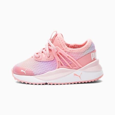 Zapatos Pacer Future Prismatic para bebé, Peony-Puma Blanco, pequeño