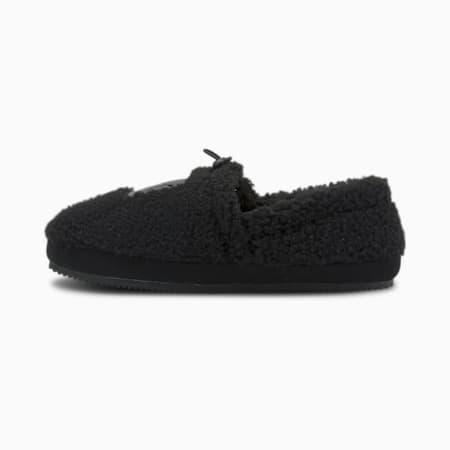 Tuff Mocc Sherpa Slippers, Puma Black-Dark Shadow, small