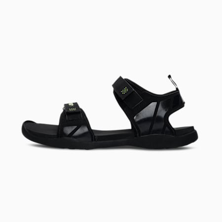 Path Reload Men's Sandals, Puma Black-Limepunch, small-IND