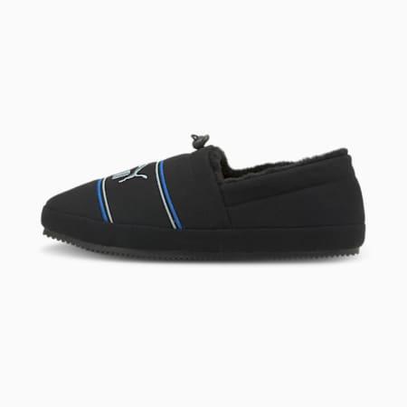 Tuff Mocc Jersey Slippers, Puma Black-Glacial Blue-Nebulas Blue, small-GBR