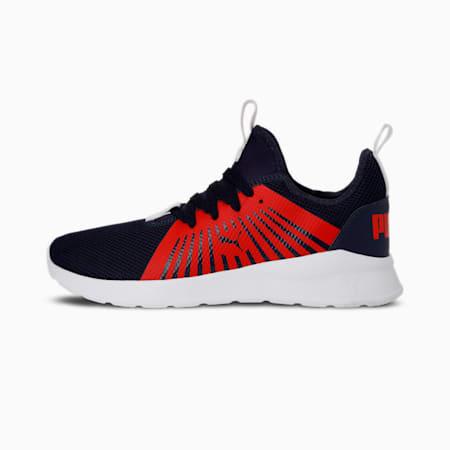 Anzarun Lite V3  Men's Shoes, Peacoat-High Risk Red-Puma White, small-IND