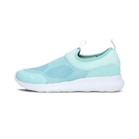 Comfort V2 Slip-On Women's Shoes, Eggshell Blue-Puma White, small-IND
