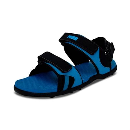 PUMA Hack Men's Sandals, Star Sapphire-Puma Black, small-IND