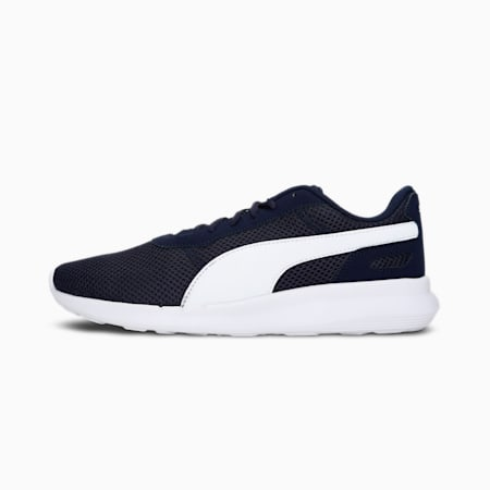 Cliff Unisex Shoes, Peacoat-Puma White, small-IND