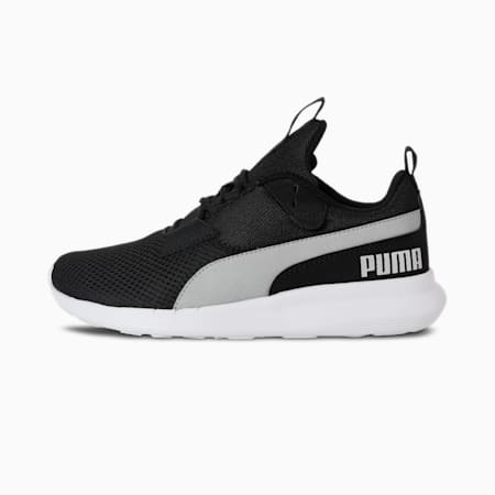 Player Women's Shoes, Puma Black-Silver, small-IND