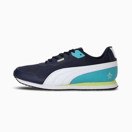 PUMA x 1DER Denver Men's Shoes, Peacoat-Puma White-Fizzy Lime-Porcelain, small-IND