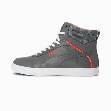 PUMA x 1DER Rock Men's Sneakers, CASTLEROCK-Glacial Blue-Cherry Tomato-Puma White, small-IND