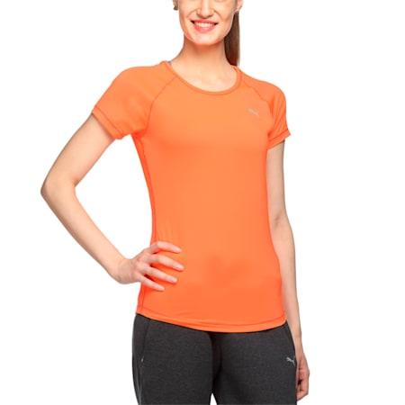 Women's Training T-Shirt, Red Blast, small-IND