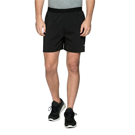 Running Pace Men's Shorts, black, small-IND