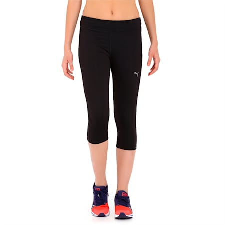 Running Women's 3/4 Tights, black, small-IND