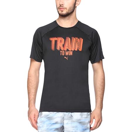 Active Training Men's Unleash Instinct T-Shirt, Puma Black, small-IND