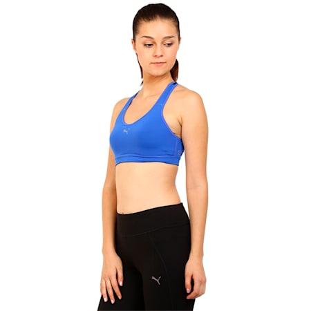 Training Women's PWRSHAPE Cardio Bra, dazzling blue, small-IND