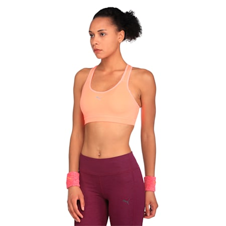 Training Women's PWRSHAPE Cardio Bra, Nrgy Peach, small-IND