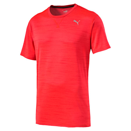 Rebel-Run S S Tee, Red Blast Heather, small-IND