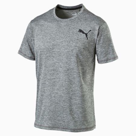 Training Men's Essential Puretech Heather T-Shirt, Medium Gray Heather, small-SEA