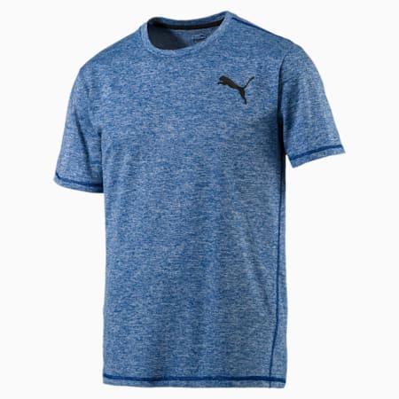 Training Men's Essential Puretech Heather T-Shirt, TRUE BLUE Heather, small-SEA