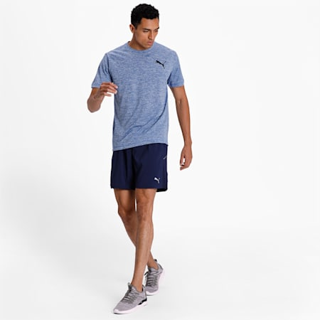 Training dryCELL Men's Essential Puretech Heather T-Shirt, TRUE BLUE Heather, small-IND