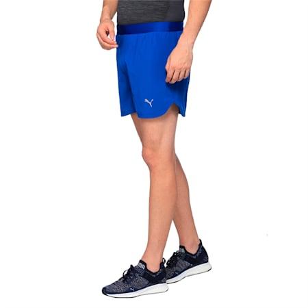 Running Men's Speed Shorts, TRUE BLUE, small-IND