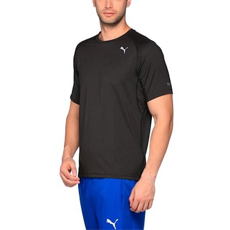 Running Men's Speed T-Shirt, Puma Black Heather, small-IND