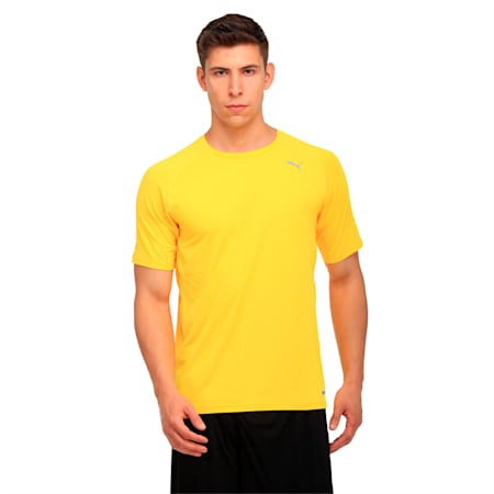 Running Men's PWRCOOL Speed T-Shirt, ULTRA YELLOW, small-IND