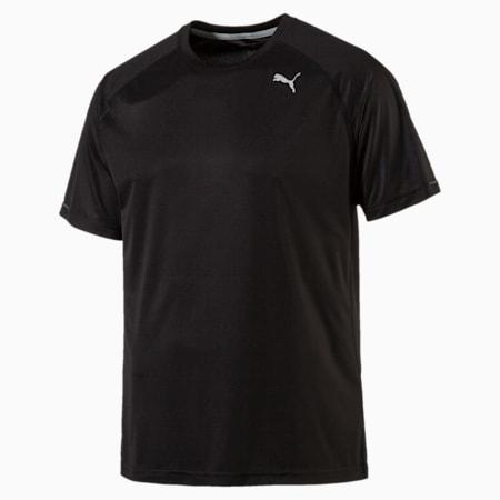 Hardloop T-shirt voor heren, Puma Black, small