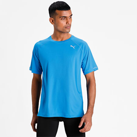 Running dryCELL Men's T-Shirt, Indigo Bunting, small-IND