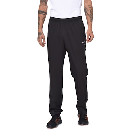Running Men's Pants, Puma Black, small-IND
