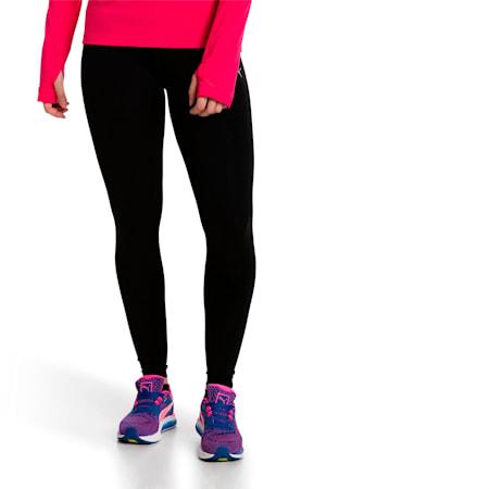 Pantaloni aderenti da running da donna, Puma Black, small