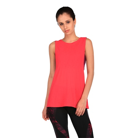 Active Training Women's Layer Tank Top, Love Potion-Oxidized prt, small-IND