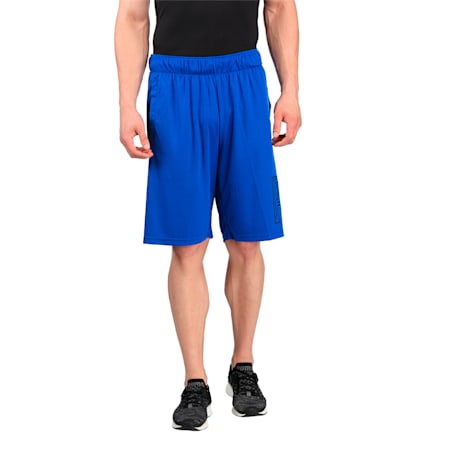 Active Training Men's Motion Flex Graphic Shorts, TRUE BLUE, small-IND