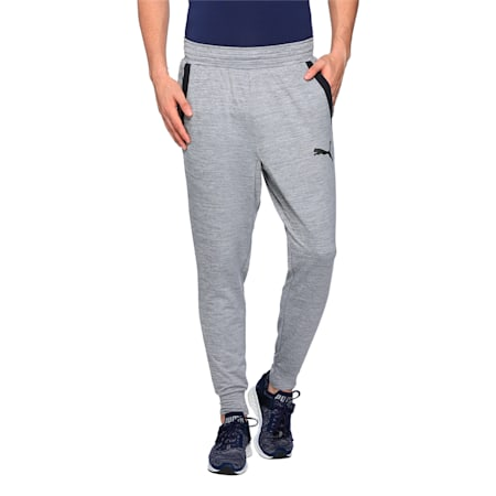 Active Training dryCELL Men's Tech Fleece Trackster Pants, Medium Gray Heather, small-IND
