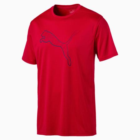 Training Men's Essential Cat T-Shirt, Toreador, small-SEA