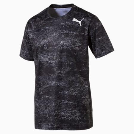 Training dryCELL Men's Graphic T-Shirt, puma white-Black, small-IND