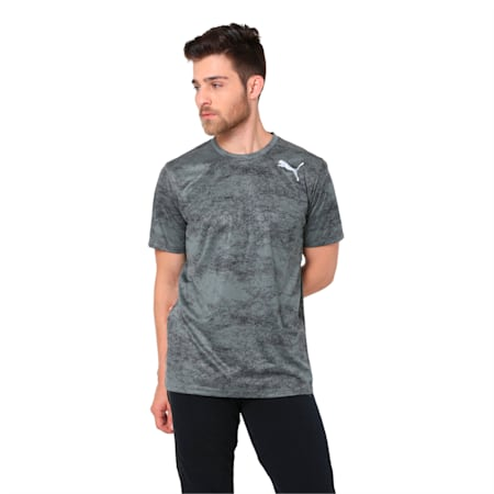Training Men's Tech Graphic T-Shirt, castor gray, small-IND