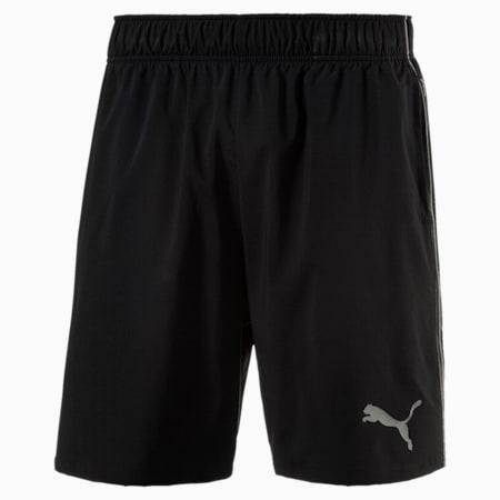 Training Men's Essential Woven Shorts, Puma Black-quiet shade, small-SEA