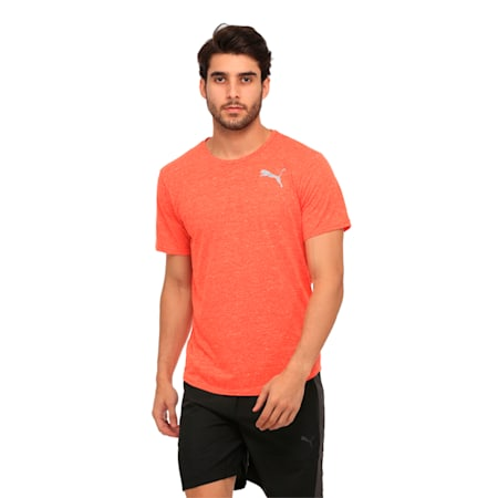 Active Training Men's Dri-Release® Novelty T-Shirt, Cherry Tomato Heather, small-IND