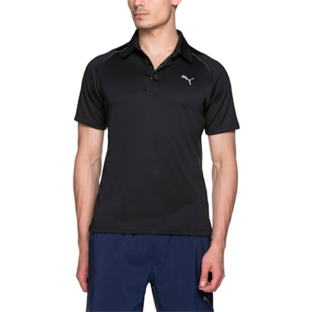 Men's dryCELL Essential Polo, Puma Black, small-IND