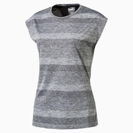 Running Women's Epic T-Shirt, Medium Gray Hthr-Puma Black, small-IND